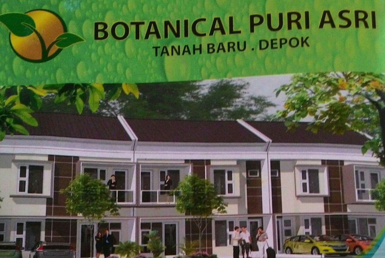 perumahan botanical puri asri depok tawarkan hunian