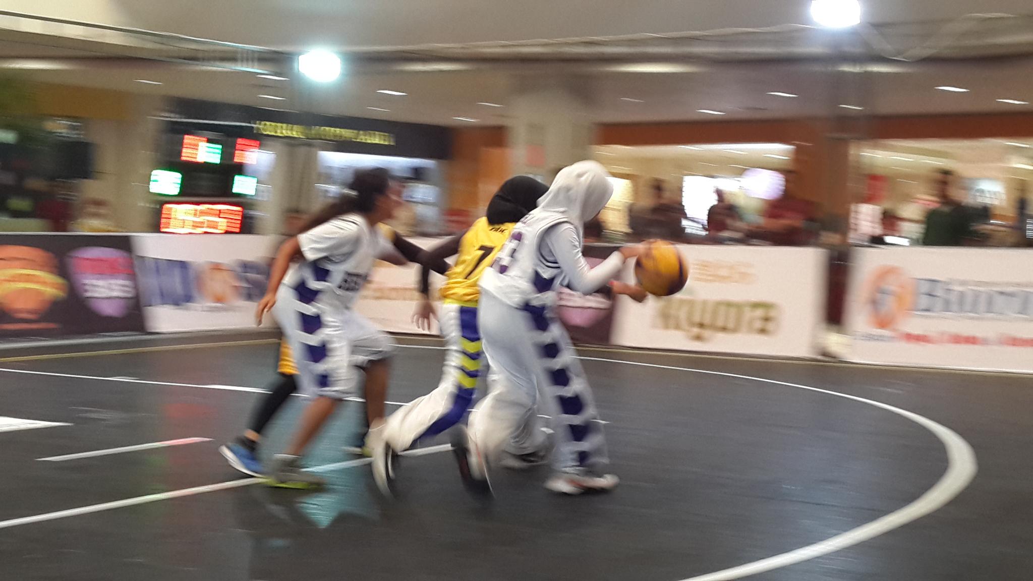Olahraga basket berkembang pesat di Depok.