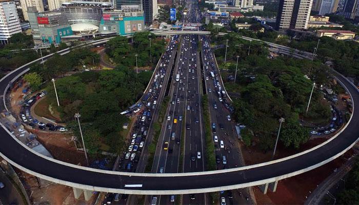 Simpang Susun Semanggi akan menjadi ikon Jakarta di bidang transportasi.