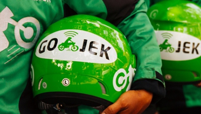 Ratusan mengemudi Gojek online. (islustasi_