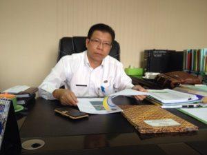 Kepala Dinas PUPR Kota Depok, Manto.
