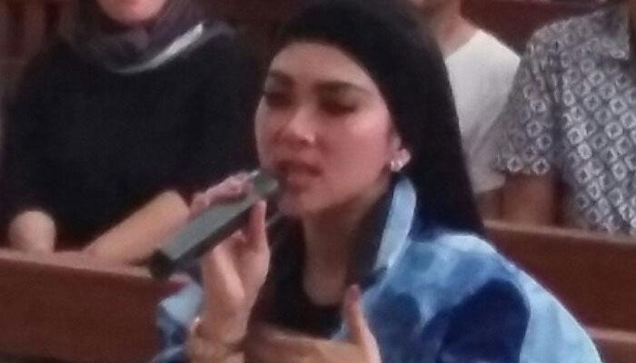 Syahrini mengaku lega sudah menyampaikan kesaksiannya di PN Kota Depok.
