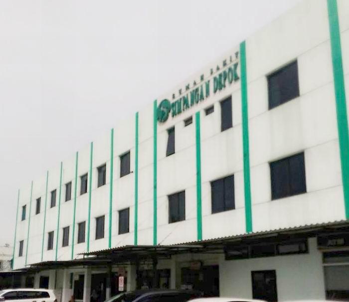 Rumah Sakit Simpangan Kota Depok.