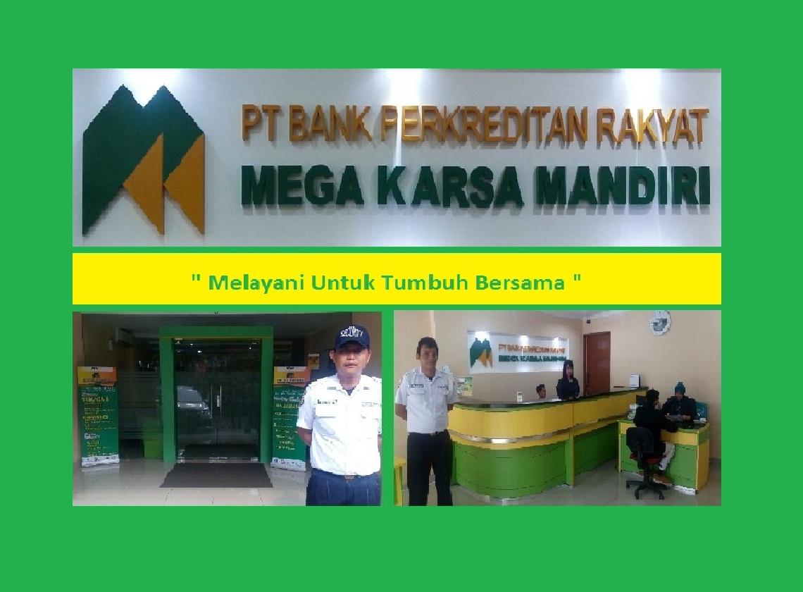 Izin usaha BPR Mega Karsa Mandiri yang berkantor di Cinere dicabut oleh OJK.
