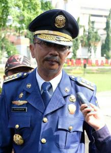 Gandara Budiana, Kepala Dinas Kebakaran dan Penyelamatan Kota Depok.