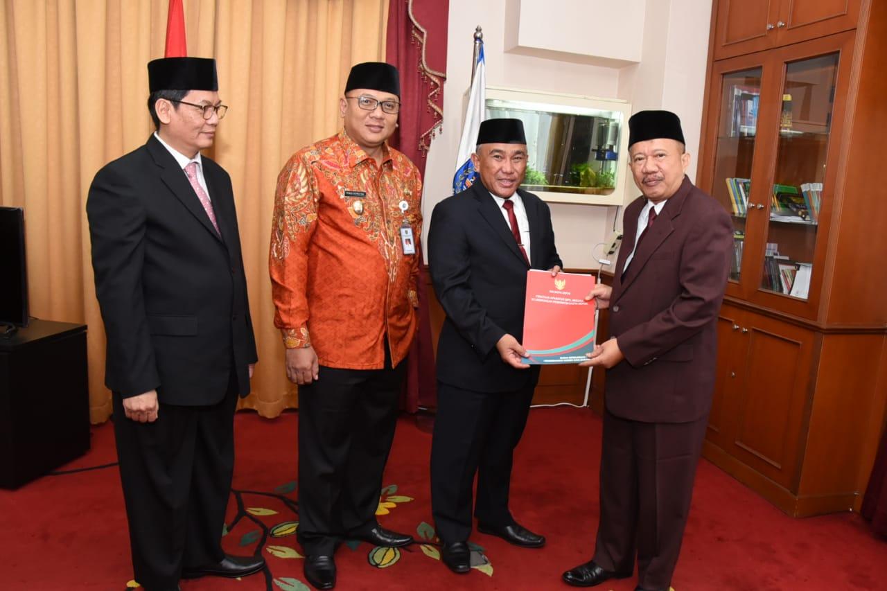 Kasatpol PP Yayan Ardianto diangkat sebagai Asisten bidang Administrasi dan Pemerintahan