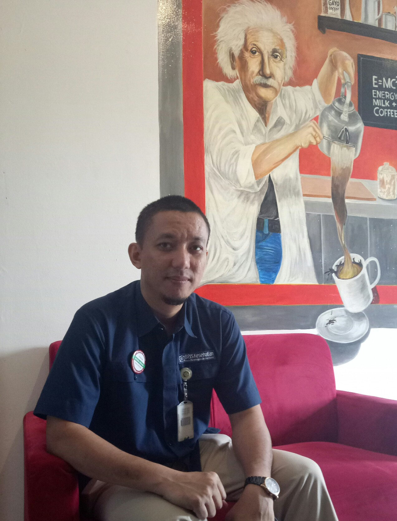 Kepala BPJS Kesehatan Cabang Kota Depok,  Irfan Qadarusman