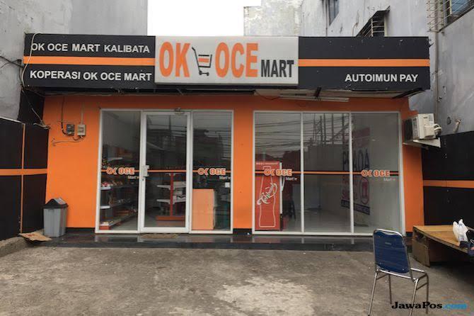 Salah satu OK OCE Mart di Jakarta.